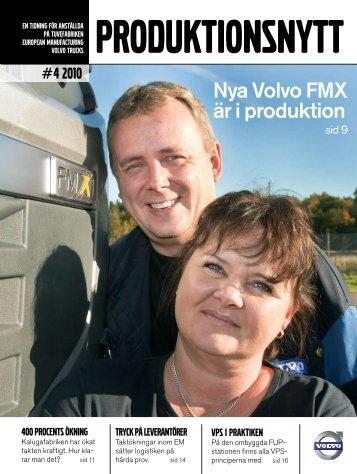 Nya Volvo FMX är i produktion - Ord- & Formbyrån Väst