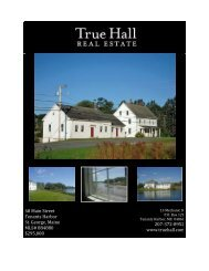 Huse House, Martinsville, Maine - True Hall Realty