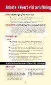 Arbeta säkert vid avluftning av fjärrkyle-/fjärrvärmerör - Byggnads - Page 2