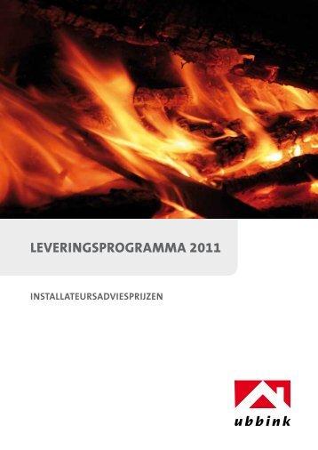 Leveringsprogramma 2011 Ubbink rookgasafvoer en ...