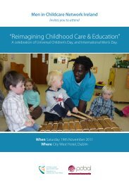 Men in Childcare Conference Brochure 2011 - South Tipperary ...