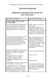 Samrådsredogöresle Regional plan.pdf - Regionförbundet i Kalmar ...