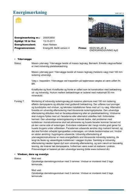 Energimærkning AB Skolehaven