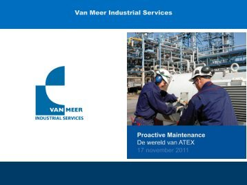 Download de presentatie in PDF formaat - Van Meer Industrial ...