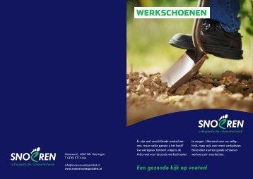 WERKSCHOENEN - Schoen en Voetspecialist Snoeren