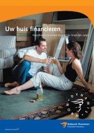 Brochure 'Uw huis financieren' - Strijbosch Thunnissen Makelaars