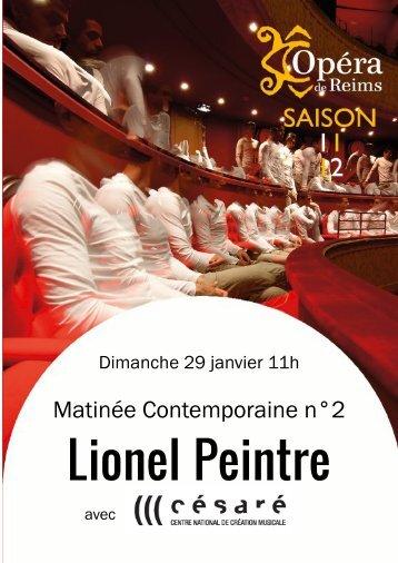 Matinée Contemporaine n°2 - Opéra de Reims