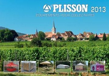 Téléchargez le catalogue - PLISSON