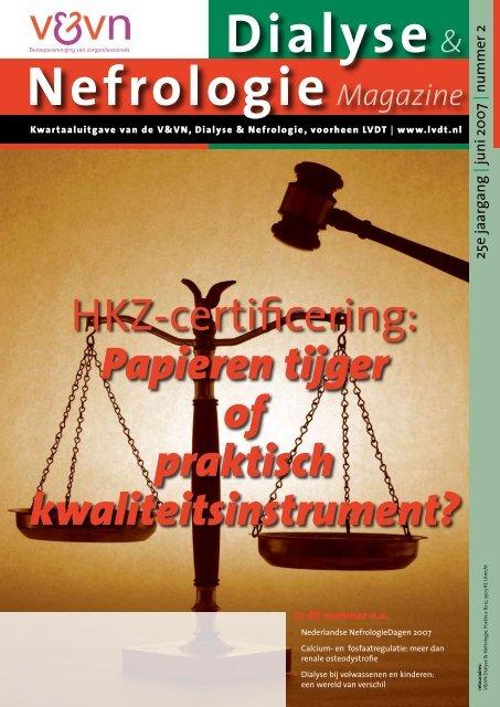 15-06-2007 V&VN Dialyse en Nefrologie magazine 2 2007