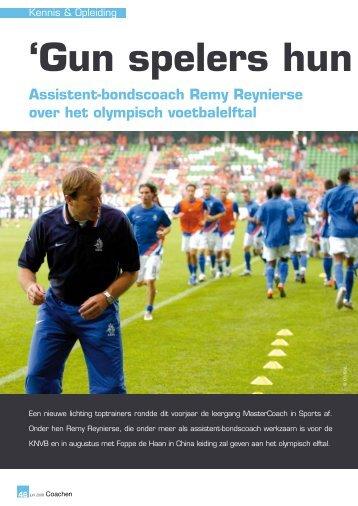 18 juli 2008 Remy Reynierse over het begeleiden ... - ActionType