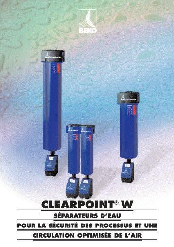 CLEARPOINT® W - BEKO Technologies Gmbh