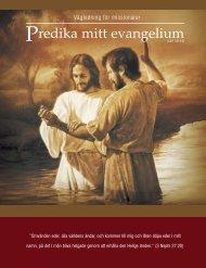 Predika mitt evangelium - Jesu Kristi Kyrka av Sista Dagars Heliga