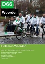 Klik hier om het Fietsrapport te downloaden - D66 Woerden