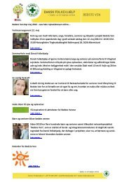 Bedste Ven Nyt maj 2012 - Læs hele ... - Dansk Folkehjælp