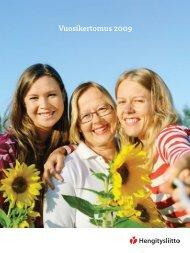 Hengitysliitto Helin vuosikertomus 2009 - Keuhkot pihalle