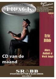 Track november 2011 - Stichting Rhythm & Blues Breda