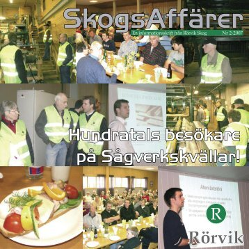SkogsAffärer maj 2007.indd - Rörvik Timber