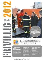 FRIVILLIG Marts 2012 - Beredskabsforbundet