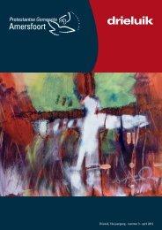 Drieluik van april 2012 - Protestantse Gemeente Amersfoort
