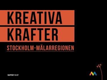 Kreativa krafter - Kulturekonomi