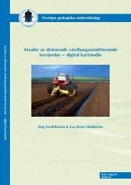 digital kartstudie. SGU-rapport 2006:14 - Sveriges geologiska ...