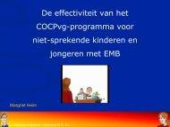 De effectiviteit van het COCP-programma voor ... - Kennisplein