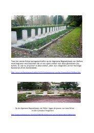 Link naar de herdenkings monumenten rond Dalfsen.