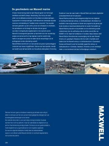 Accessoires - Maxwell Marine