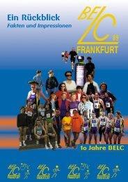 10 Jahre BELC 89 Frankfurt - Bergen-Enkheimer Laufclub 89 Frankfurt
