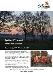 09 November - Gädebehn - Korsholm Jagtrejser