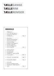 TæLLESANGE TæLLERIM TæLLEREMSER - spf – nyheder . dk
