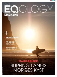 sUrFinG lanGs norGes KYst - Eqology