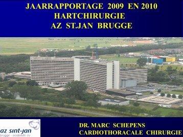 JAARRAPPORTAGE 2009 EN 2010 ... - AZ Turnhout