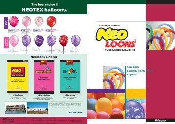 NEOTEX balloons. - Donballon
