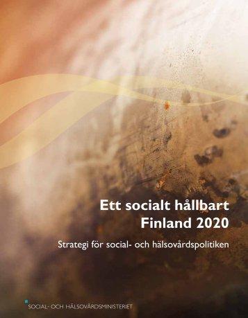 Ett socialt hållbart Finland 2020