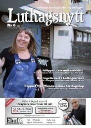 nr. 6/2011 - luthagsnytt