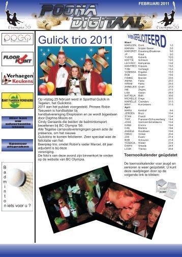 Nieuwe editie februari 2011 kunt hier openen - BC Olympia '56