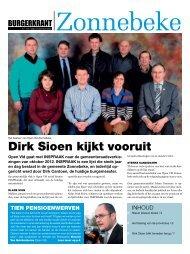 Dirk Sioen kijkt vooruit - Open Vld