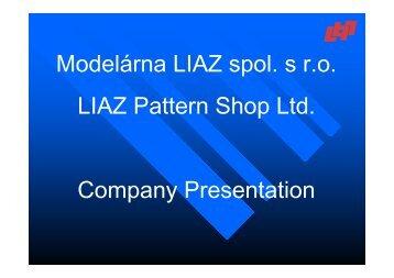 Company presentation2009 OK