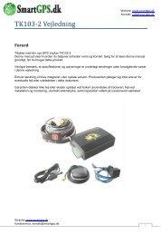 TK103-2 Vejledning - Smart GPS