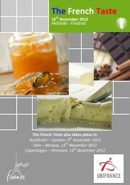 The French Taste - Ubifrance