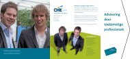 Advisering door toekomstige professionals - Christelijke Hogeschool ...
