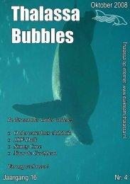 Thalassa Bubbles • oktober 2008 - Duikteam Thalassa