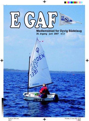 E GAF 2007 Juni - Dyvig Bådelaug
