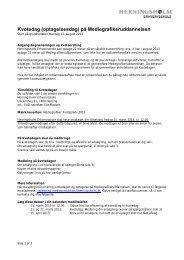 Mediegrafiker - Herningsholm Erhvervsskole