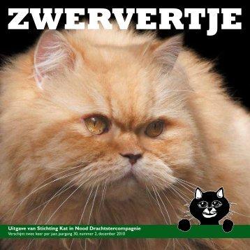 Uitgave van Stichting Kat in Nood Drachtstercompagnie
