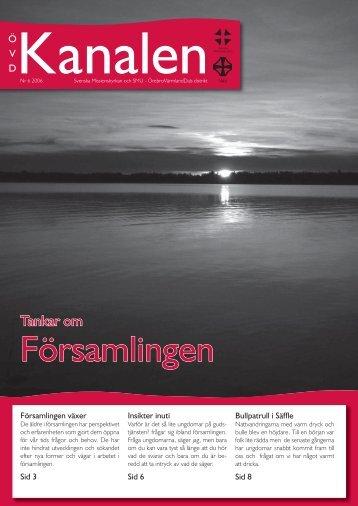 Nummer 6 - Örebro Värmland Dals distrikt - Svenska Missionskyrkan
