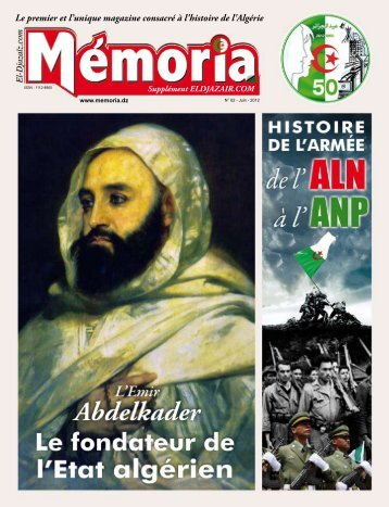 Le premier et l'unique magazine consacré à l'histoire de l ... - Memoria