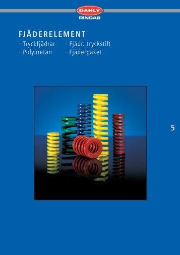 FJÄDERELEMENT - Tryckfjädrar - Ringab AB