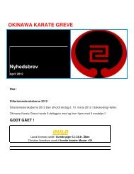 Nyhedsbrev 2012 April - Sydkystens Karate Klub